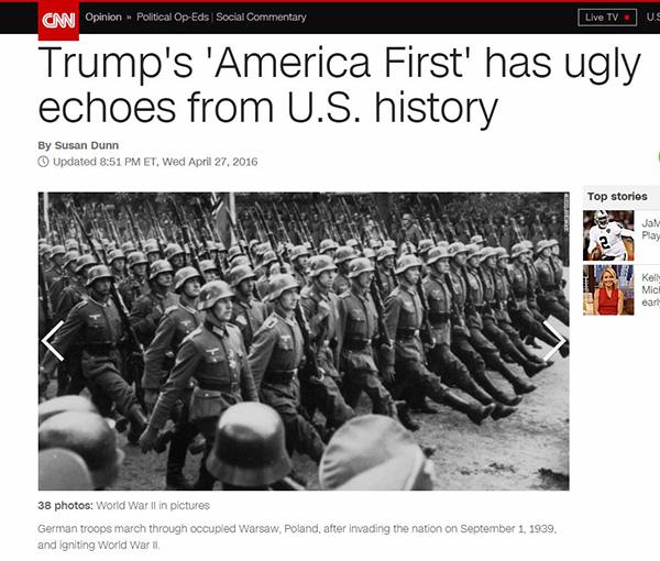 CNN on Trump